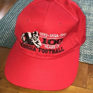 Georgia Bulldogs 100 years Football Snapback Cap